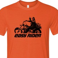 Easy Rider T Shirts Dennis Hopper Middle Finger Indian Motorcycle