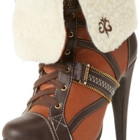 Dereon Women's Animate Yourself Lace-Up Boot