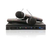 Technical Pro WM201 Dual Handheld Microphone System VHF High Band