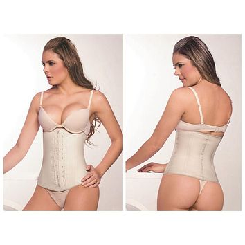 Ann Chery 2025 Latex Girdle Body Shaper Color Beige