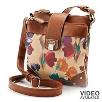 Rosetti Double-Time Floral Crossbody Bag