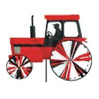 Modern Tractor Red