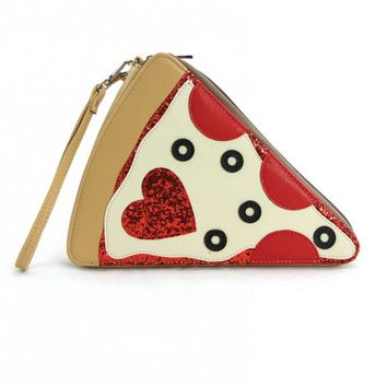 Clutches - Pizza Party Slice Clutch Purse