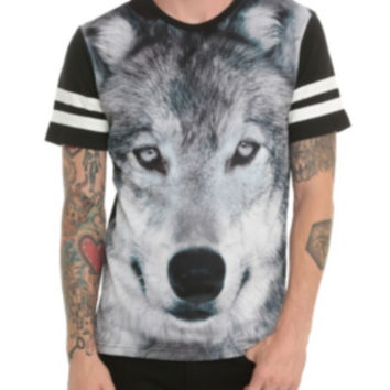 RUDE Big Wolf Mesh T-Shirt