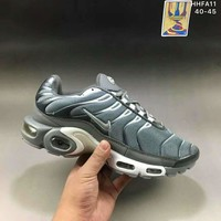 Air Max Plus Men Running Roshe Sport Casual Shoes Sneakers Dark grey G-A0-HXYDXPF
