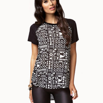 Tribal Print Top | FOREVER21 - 2074565784