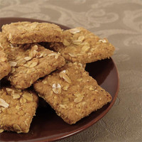 Baxter Bites Gourmet Dog Treats - Banana Crunch Squares