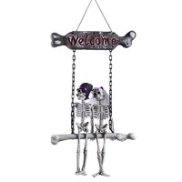 Skull Door Hanger or Wall Ornament Decoration