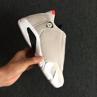 "2018 Air Jordan 14 XIV Retro ""Desert Sand"" Basketball Sneaker"