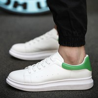 Casual Low-cut Men Korean Thick Crust Shoes