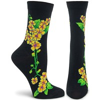 Apothecary Florals - Primrose Sock