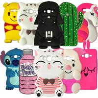 Newest 3D Cartoon Stitch Minnie For Samsung Galaxy J2 Prime Phone Case For Samsung J2 Prime Rubber Cover Grand Prime Plus case