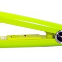 Turboion Baby Croc Professional Dual Voltage Mini Travel Flat Iron, Lime, 5/8 Inch