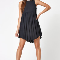 Kendall and Kylie Mock Neck Shirt-Tail Dress at PacSun.com