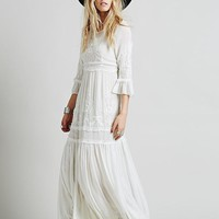 Women's Long Boho Maxi Dress
