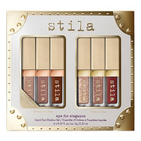 STILA Glitter and Glow and Shimmer and Glow Eye For Elegance liquid eyeshadow set