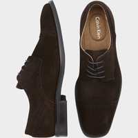 CALVIN KLEIN HANCOCK BROWN OXFORD SHOES