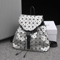 Women Fashion Backpacks Geometric Mosaic Laser Lingge Cube Bags Brand Designer High quality Backbags Bolsas Diamond lattice Bag