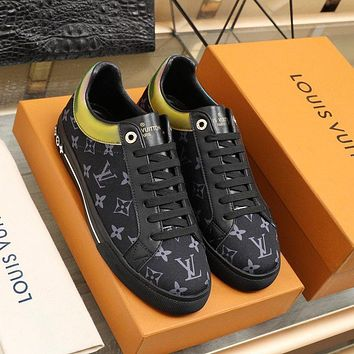 lv louis vuitton womans mens 2020 new fashion casual shoes sneaker sport running shoes 347