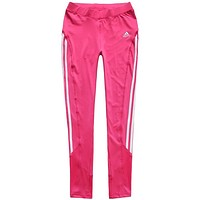 Trendsetter Adidas Woman Casual Gym Sport Yoga Embroidery Print Pants Trousers Sweatpants