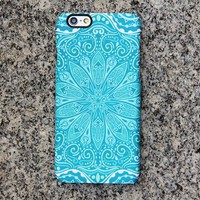 Teal Green Floral iPhone XR Case iPhone XS Max plus Tribal iPhone 8 SE  Case Samsung Galaxy S8 S6  Note 3 Case 050