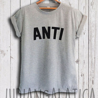 rihanna shirt anti shirt rihanna tour shirt rihanna merch rihanna anti tshirt unisex size