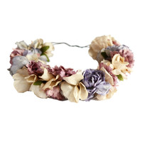 Paradís Flowers Crown Headband | eliurpi