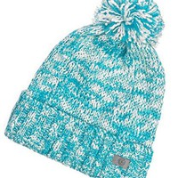 Soft Knit Pom Pom Mix Beanie