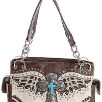 The West Cross and Wing Purse