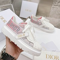 Dior Women's 3M Reflective Shell Toe Sneakers Shoes