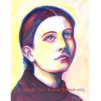 Gemma Gilgani Catholic Art Print