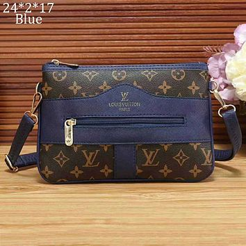 LV Louis Vuitton 2018 new fashion camera bag Messenger bag handbag F-a-BBPFCJ blue