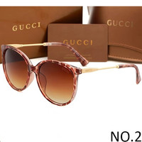 GUCCI 2018 Men's and Women's High Quality Trendy Sunglasses F-ANMYJ-BCYJ NO.2