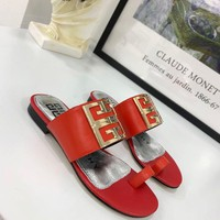 Givenchy Women's Leather Sandals-DCCK