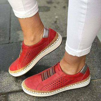 Fashion hot selling new women's leisure sports large size shoes