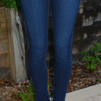 Denim Skinny Jean-Dark Wash