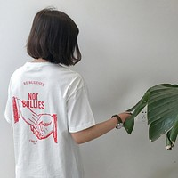 Be Buddies Not Bullies Tee