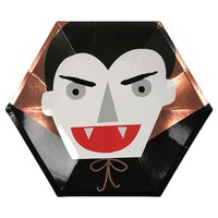 Halloween Character Paper Plates