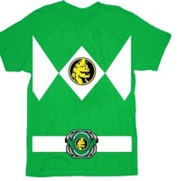 Mighty Morphin' Power Rangers Costume Adult T-shirts