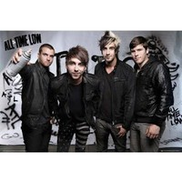 All Time Low Spray Music Poster