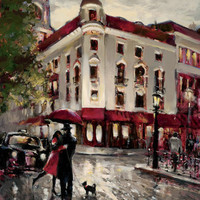 Welcome Embrace Print by Brent Heighton at Art.com