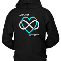 Shawn Mendes I Love Shawn Mendes Beside Hoodie Two Sided