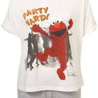 Elmo Party Hard Tee And Shorts - New In This Week  - New In