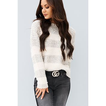 Just Loving You Sweater (Oatmeal)