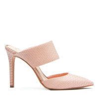 JESSICA SIMPSON CHANDRA MULE - DUSTY ROSE