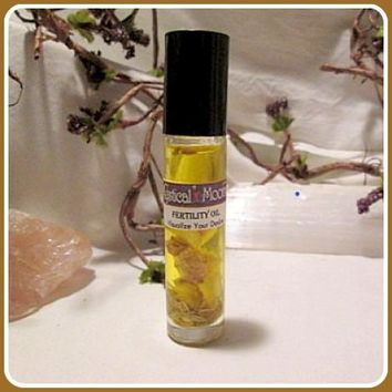 Fertility Fennel Ginger Charged Anointing Oil