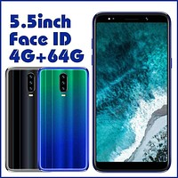 "A70 Original Android Smartphones Face ID 5.5"" Screen 13MP China Mobile Phone 4GRAM+64GROM ..."