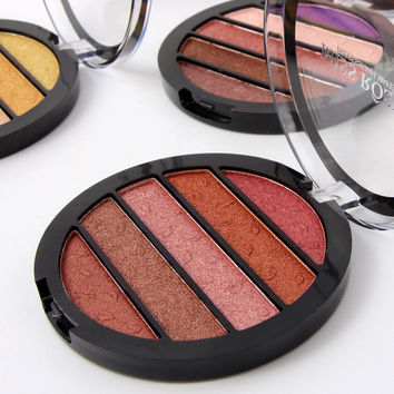MISS ROSE 5 Colors Professional Eye Shadow [11517936207]