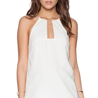 Cameo Better Off Top in Ivory