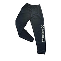 Black Volleyball Sweatpant